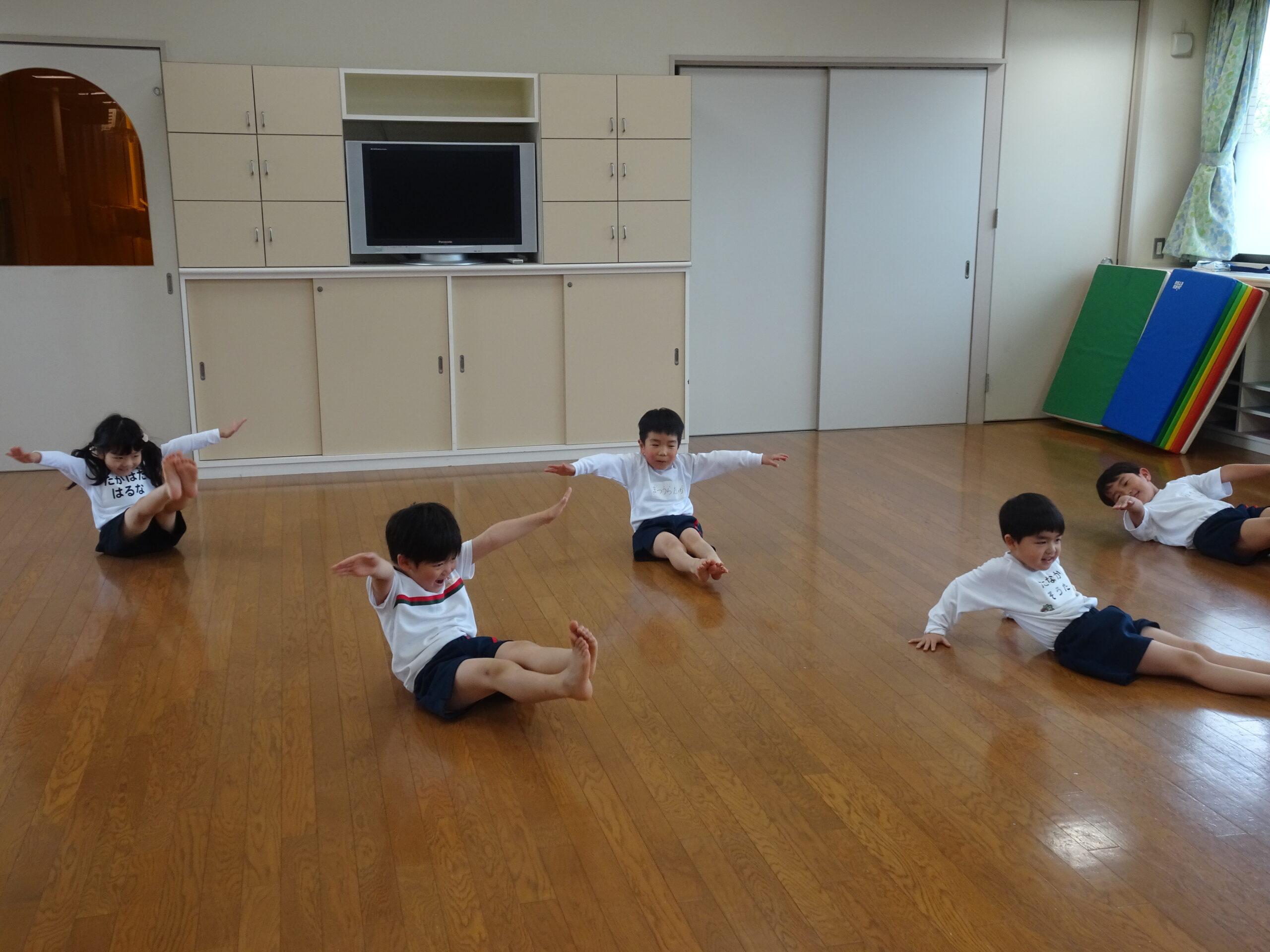 はじめての体操教室